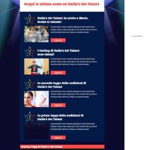 Sky - Italia's got talent 2015-2016 - Facebook app