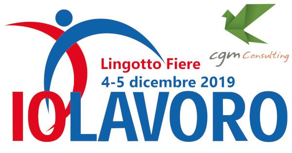 IOLAVORO 2019 Torino Lingotto